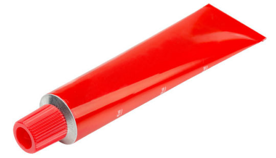 Sealants for collapsible aluminum tubes